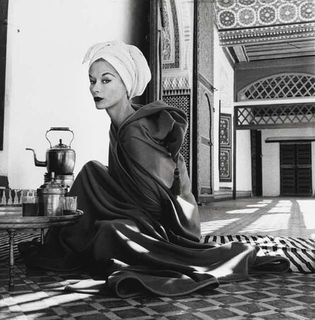 Irving Penn, 'Woman in a Palace (Lisa Fonssagrives-Penn), Marrakech, Morocco', 1951