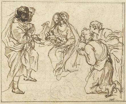 Agostino Masucci, 'The Adoration of the Shepherds'