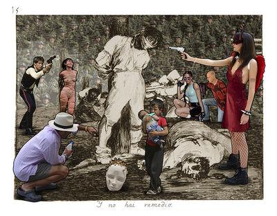 Lluis Barba, 'Ya no hai remedio. Goya', 2019