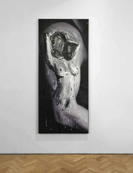Marcus Harvey, 'Girlfriend', 2013