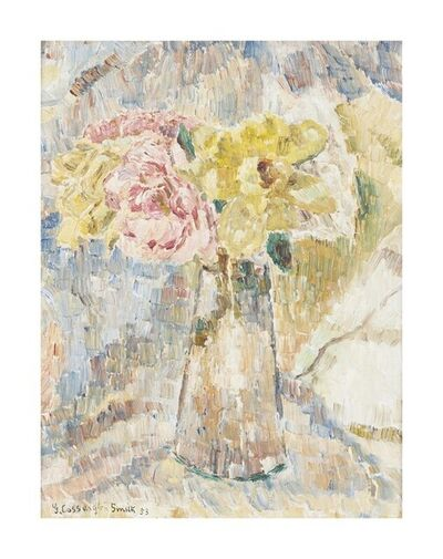 Grace Cossington Smith, 'Roses', 1953