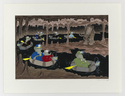 Laurent de Brunhoff, 'The Cave of the Mammoth', 1994
