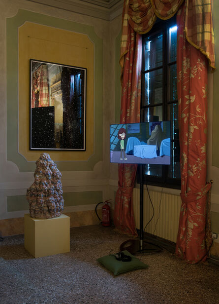 Andy Holden, 'Animated Shorts and related works from Cartoon Landscape', 2017