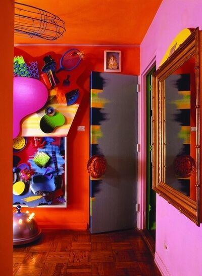 Dan Friedman, 'View of Dan Friedman's apartment entry at 2 Fifth Avenue, New York', 1982-1988