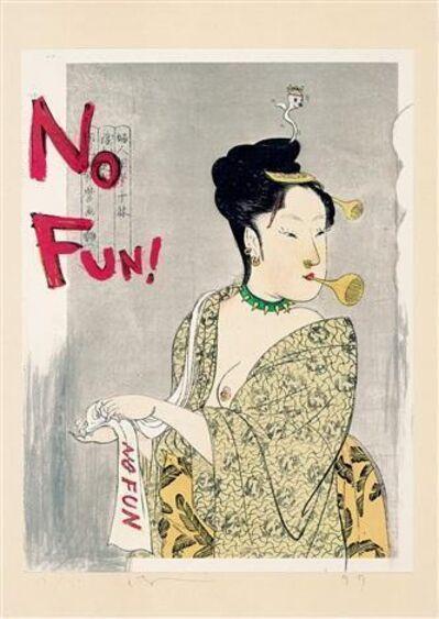 Yoshitomo Nara, 'No Fun! (In the Floating World)', 1999