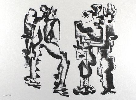 Ossip Zadkine, 'Deux figures', 1967