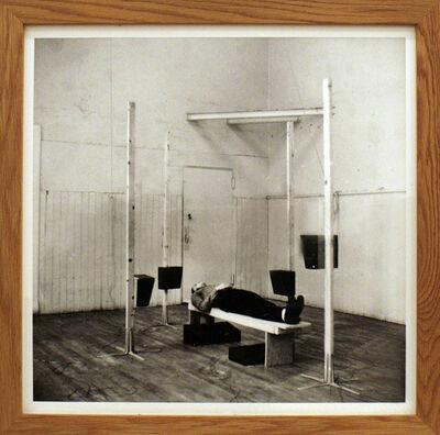 Bernhard Leitner, 'ENG-RAUM mit 8 Lautsprechern, 1974 Atelier I, New York', 1974