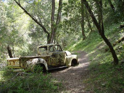 Jane Paradise, 'Abandoned Car, Vichy, California', 2009