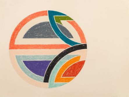 Frank Stella, 'Sinjerli Variation Ia', 1977