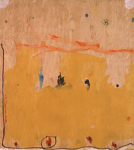 Helen Frankenthaler, 'Tales of Genji II (from a Suite of Six Woodcuts)', 1998