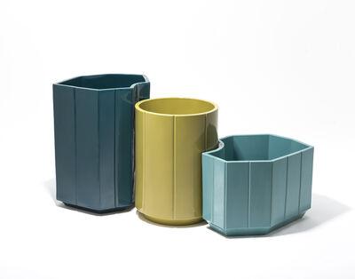 India Mahdavi, 'Monochrome Vases SET #4-5-6 from Series 3', 2013