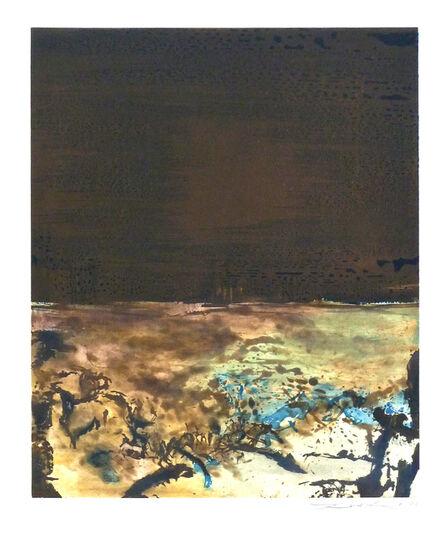 Zao Wou-Ki 趙無極, ' Etching No. 328', 1986