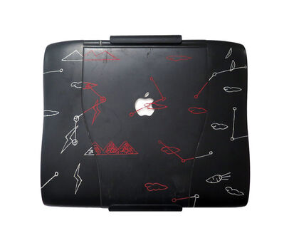 Fung Ming Chip, 'Applied Ideogram Series – Apple Notebook', 1996