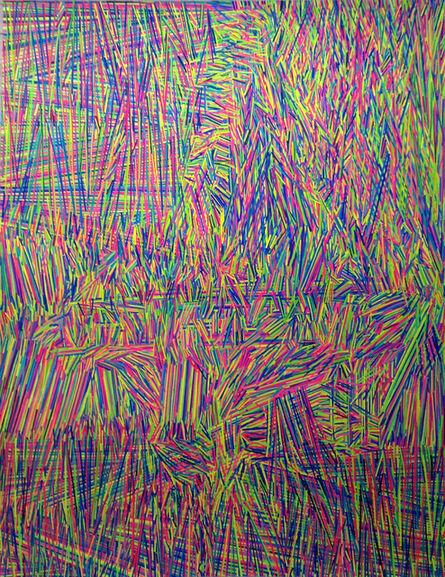 Marta Minujín, 'Energia onda interior y proyección del ser', 2015