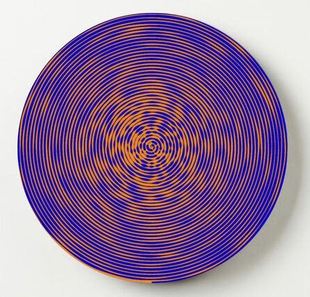 John Zoller, 'John Zoller, Molten Blue Orb', 2020