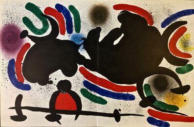 Joan Miró, 'Original Lithograph IV', 1972