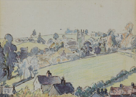 Pissarro Lucien, 'Wotton-under-Edge', 1920