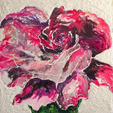 Haleh Mashian, 'Pink Rose', 2018