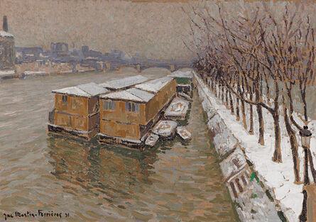 Jac Martin-Ferrières, 'Piscine Deligny on the River Seine', 1931