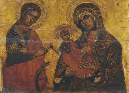 'The Mystic Marriage of Saint Catherine'