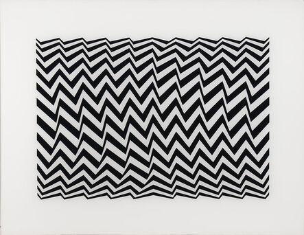 Bridget Riley, 'Fragment 3 (Schubert 5C)', 1965