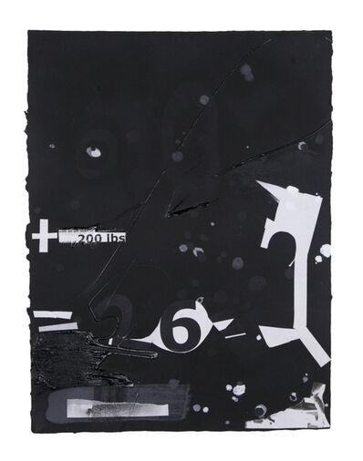 Suzanne McClelland, 'In the Black #5', 2015