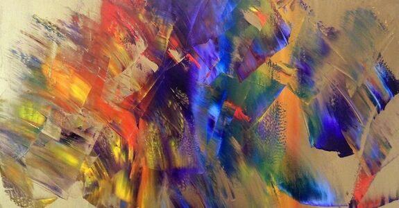 Jean Gabriel Lambert, 'Arco Iris #2'