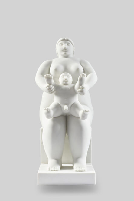Fernando Botero, 'Maternidad sentada', 2010