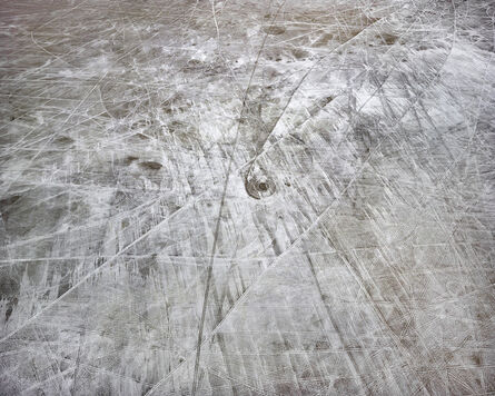 Michael Light, 'Salt Wash and Tracks Looking South, Pleistocene Lake Bonneville, Wendover, Utah', 2018