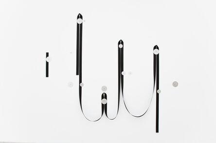 Alexandre Canonico, 'Black Strap and Washers (13m/ 7l/ 5m/ 2s)', 2019