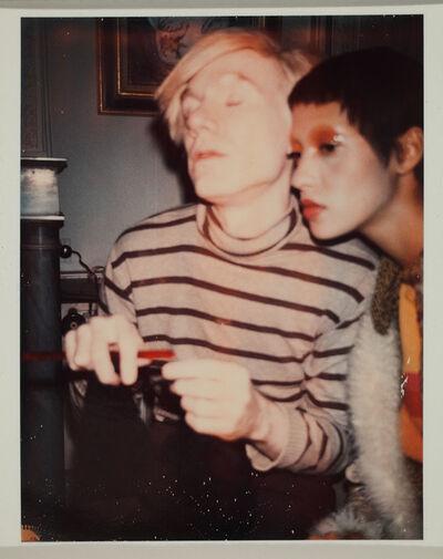 Andy Warhol, 'Andy Warhol and Carol La Brie', 1970