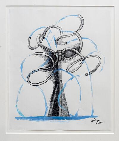 Susumu Shingu, 'Water Tree', 2018
