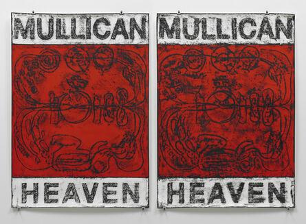 Matt Mullican, 'Untitled (Poster Heaven / red)', 2012