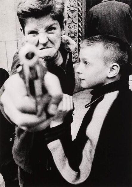 William Klein, 'Gun I, New York', 1955