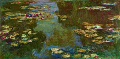 Claude Monet, 'Le bassin aux nymphéas', 1919