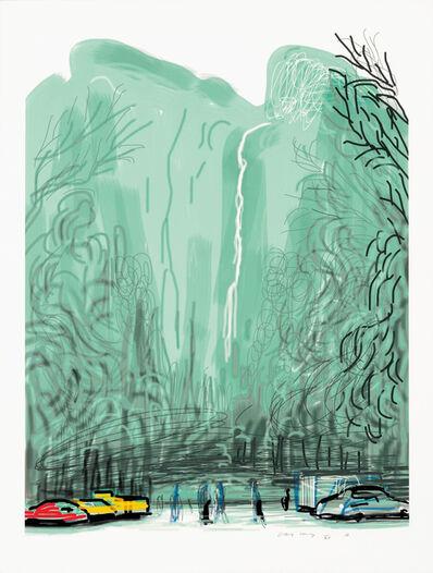 David Hockney, 'Untitled No. 13 : The Yosemite Suite', 2010