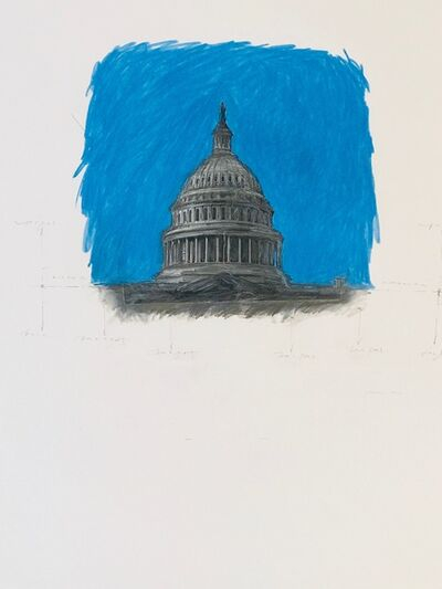 Grover Mouton, 'Capitol Dome in Space', 2017