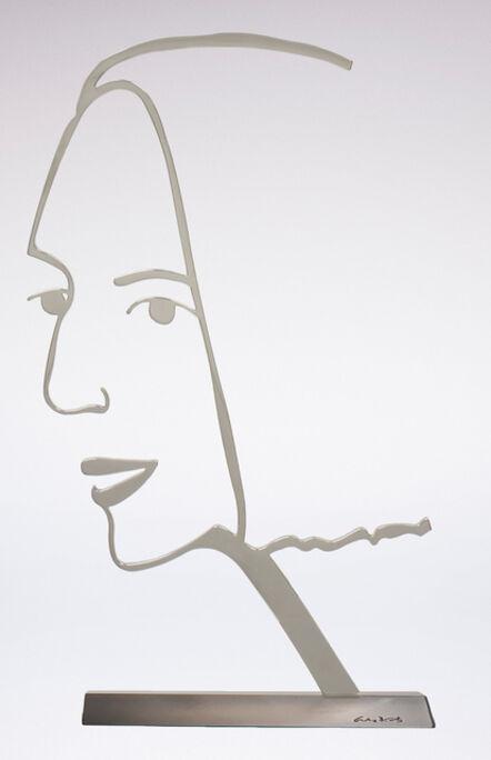 Alex Katz, 'Ada (Outline)', 2018