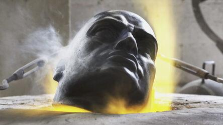Paolo Ciregia, 'Burning Dictators MUSSOLINI ', 2019