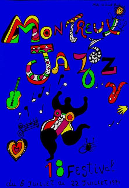 Niki de Saint Phalle, 'Montreux Jazz 84', 1984