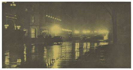 Alfred Stieglitz, 'The Glow of Night - New York', 1897