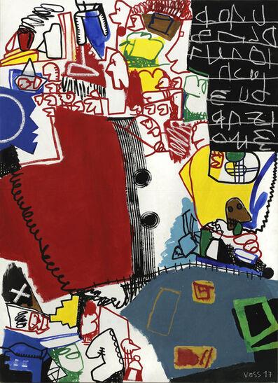 """Jan Voss, '""""Dissolution des rouges""""', 2017"""