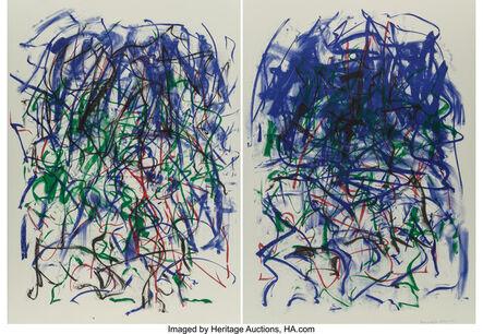 Joan Mitchell, 'Sunflowers II, diptych', 1992