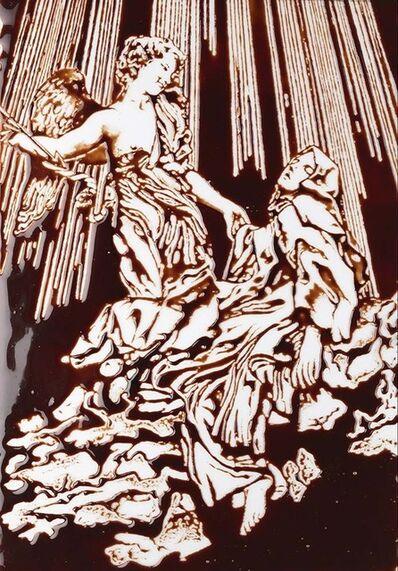 Vik Muniz, 'Pictures of Chocolate: Ecstasy of Saint Teresa, after Bernini', 2015
