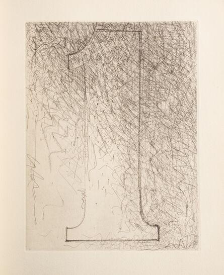 Jasper Johns, 'Fizzles (Foirades)', 1976