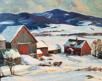 Aldro Thompson Hibbard, 'Winter Vermont', ca. 1932