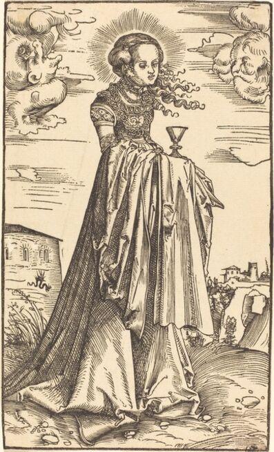Lucas Cranach the Elder, 'Saint Barbara'