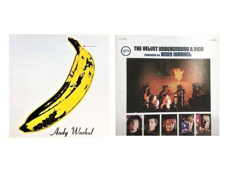 "Andy Warhol, '""Andy Warhol- Velvet Underground & Nico"", 1967, MINT UN-PEELED Banana Sticker Cover, Album LP, NEAR MINT CONDITION', 1967"