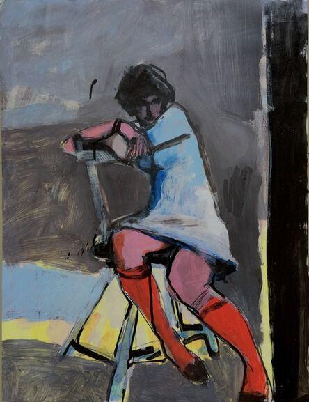 Kim Frohsin, 'Merav: Red Stockings', 1998