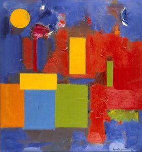 Hans Hofmann, 'Rising Moon', 1965